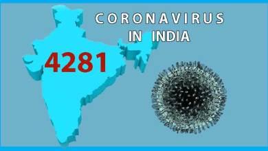 Photo of Coronavirus(COVID-19) status in India: Cases rise to 4281, 111 death