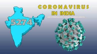 Photo of Coronavirus(COVID-19) status in India: Cases rise to 5274, 149 death