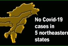 Photo of Coronavirus: No Covid-19 cases in 5 northeastern states