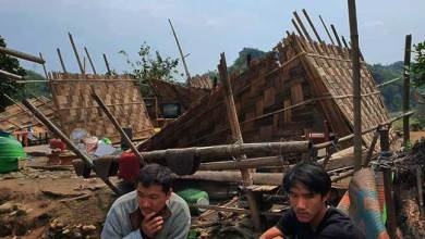 Itanagar: Strong winds damages several houses in capital complex