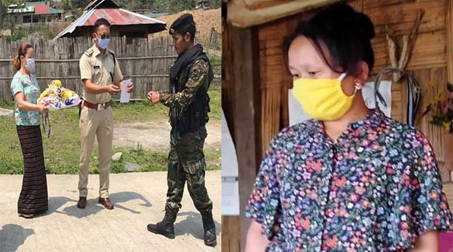 Coronavirus crisis: Women in Arunachal Villages stitching Re-usable Cloth Masks