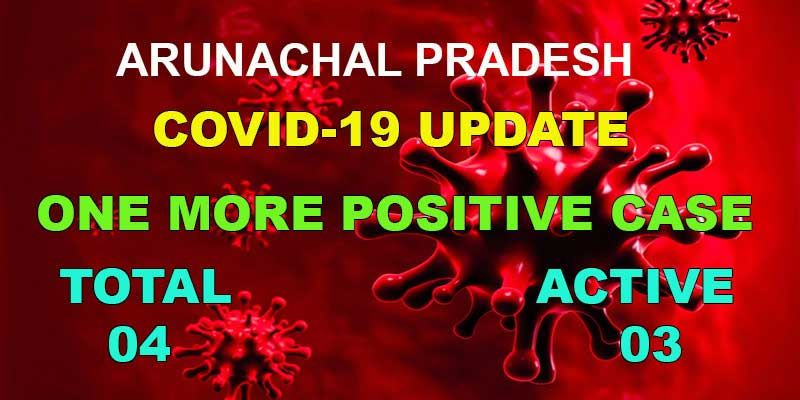 Arunachal Pradesh reports one more test positive for Covid-19