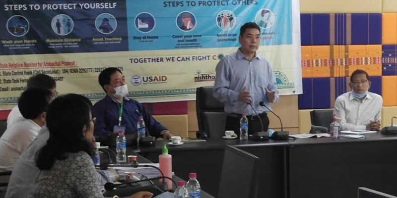 Arunachal: Alo Libang launches Audio-Visual awareness campaign on Covid-19