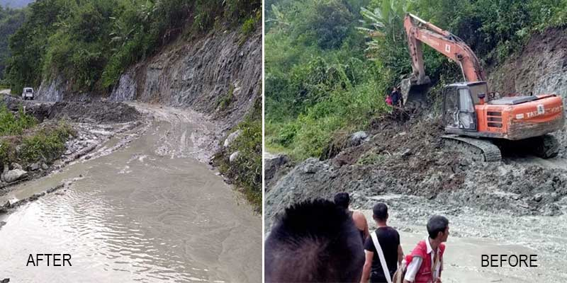 Arunachal: Surface communication restored to Anjaw