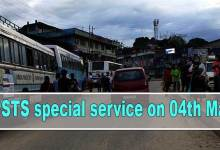 Arunachal- APSTS special service on 04th May for Eastern & Central Arunachal Pradesh