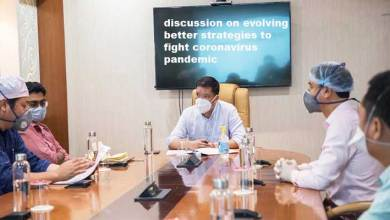 Arunachal CM discussed strategies to fight novel coronavirus pandemic