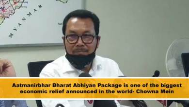 Photo of Aatmanirbhar Bharat Abhiyan Package is one of the biggest economic relief announced in the world- Chowna Mein