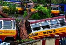 Photo of Cyclone Amphan: 72 dead in West Bengal, including15 in Kolkata