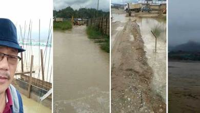 Photo of Arunachal24 Citizen Reporter: Flood Problems in Lekhi Down Colony
