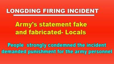 Photo of Longding Firing: Army's statement fake and fabricated- Locals
