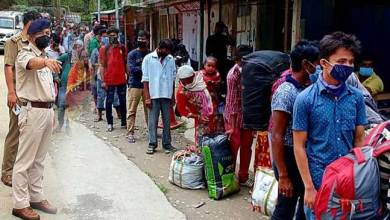 Photo of Arunachal: 4900 migrants laborers left state capital