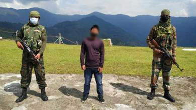 Photo of  Arunachal: Assam Rifles apprehends NSCN(KK) cadre in Changlang, Bust Extortion Racket