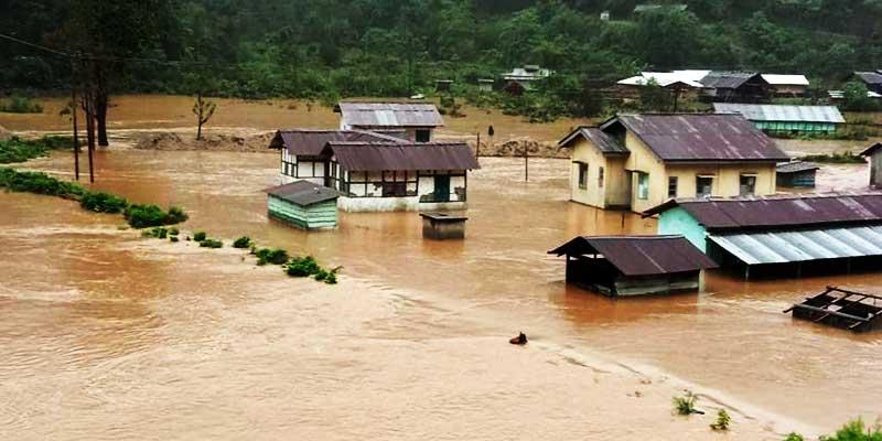 Arunachal: Passa residential Primary school in Pakke Kessang reeling under flood water