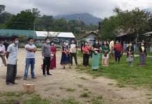 Photo of Itanagar: Women and youth groups carried out sanitization, distributed 700 face mask