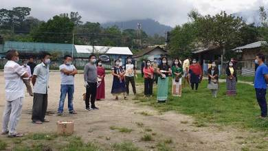 Photo of Itanagar:Women and youth groups carried out sanitization, distributed 700 face mask
