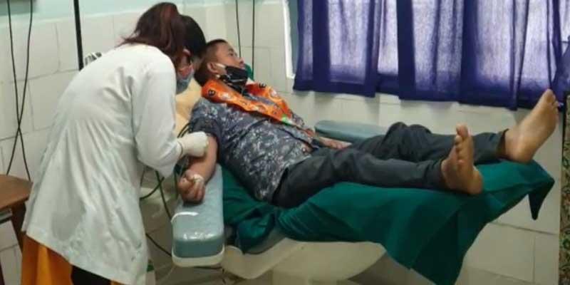 Itanagar- BJP capital unit commemorate death anniversary of Shyama Prasad Mukherjee, organised Blood Donation camp