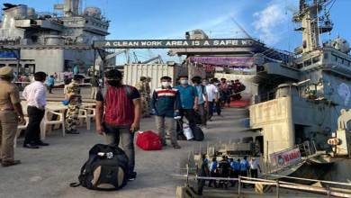 Photo of Operation Samudra Setu- INS Airavat brings back 198 Indian citizens from Maldives