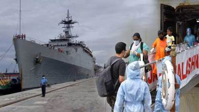 Photo of Operation Samudra Setu: INS Jalashwa arrives at Tuticorin with 700 indian citizens embarked from maldives