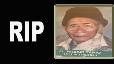 Photo of Arunachal: 109-year-old Nabam Tapio passes away