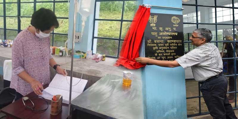 Meghalaya: Animal Health Clinic inaugurated at ICAR complex