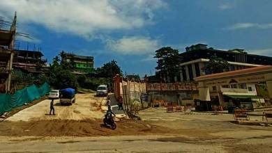 Photo of Itanagar- Approach road to ESS sector repaired and replaced with CC Pavement