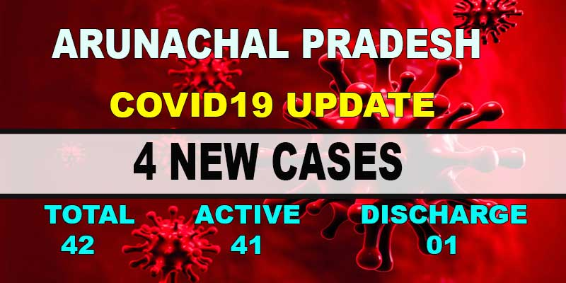 Arunachal Pradesh reports 4 new Covid-19 positive cases