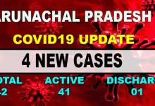 Photo of Arunachal Pradesh reports 4 new Covid-19 positive cases