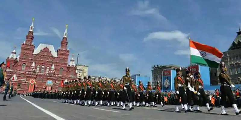 India to send Tri-Service contingent to participate in 75thVictory Day Parade of World War II in Moscow