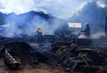 Itanagar- Three cylinder blast rock Gopur area, 1 dwelling house gutted