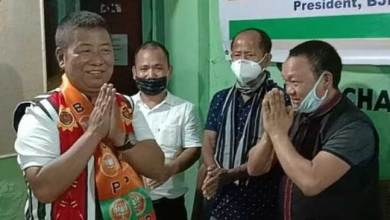 Photo of Itanagar- Former SAA Chairman Gora Makik joins BJP