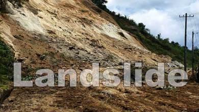 Arunachal: Papu nallah-Yupia road blocked again after massive landslide near sood village