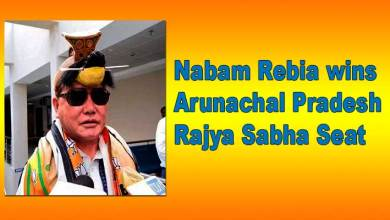 Photo of BJP's Nabam Rebia wins Arunachal Pradesh Rajya Sabha Seat
