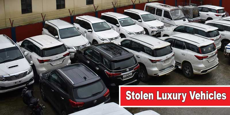 Itanagar: Capital police seized 26 stolen luxury vehicles, arrested two people