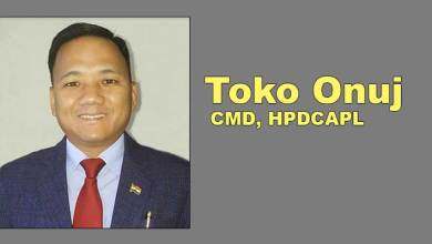 Photo of Arunachal: Toko Onuj new CMD OF HPDCAPL