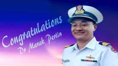 Photo of Arunachal: Pema Khandu Congratulates Dr Marak Pertin