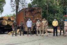 Photo of Arunachal- Roing Police Bust Illegal Timber Trade Racket