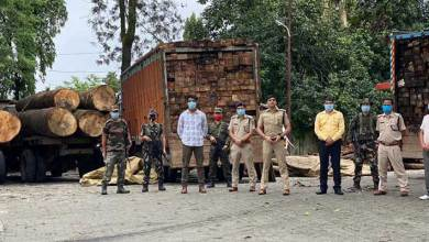 Photo of Arunachal-Roing Police Bust Illegal Timber Trade Racket