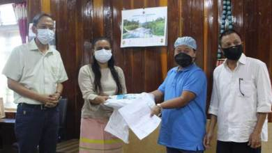 Photo of Arunachal: TRICL donates PPE kits, hand sanitizer etc to Dist  Admin to fight against COVID-19