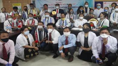 Photo of Arunachal: IMA salutes doctors on Doctors' Day