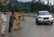Itanagar: Capital police appeal commuters to be careful while driving in hilly roads