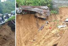 Arunachal:  Dozens of landslides incident occurred in Itanagar on Thursday