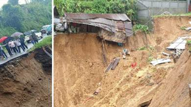 Photo of Arunachal:  Dozens of landslides incident occurred in Itanagar on Thursday