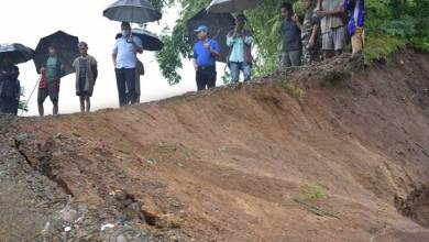Photo of Arunachal: landslide washes away portion of PMGSY Road