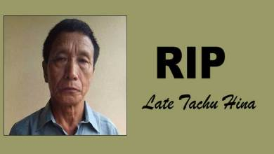 Photo of Arunachal: Congress leader Tachu Hina passes away
