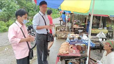 Photo of Arunachal: DVO inspected fish and meat market at 2 mile