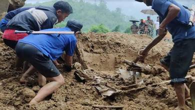 Photo of Arunachal: Modirjo landslide- fourth body recovered