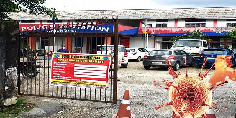 Arunachal: 12 more police personnel tested positive for Covid-19 in Naharlagun PS