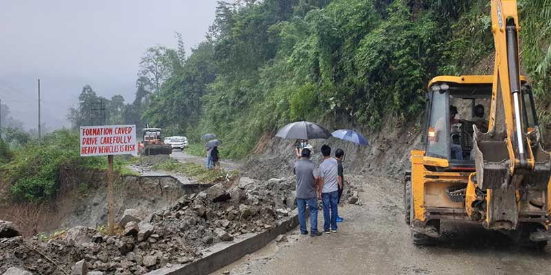 Arunachal: Doimukh-Hoj-Potin road in bad shape