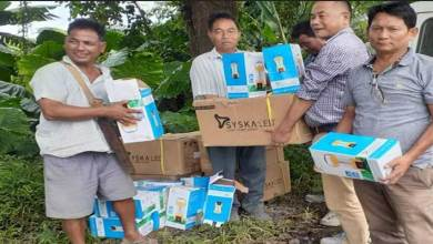 Photo of Arunachal: Pasighat Forest Division distributed solar lamps, pressure cookers to the flood victims