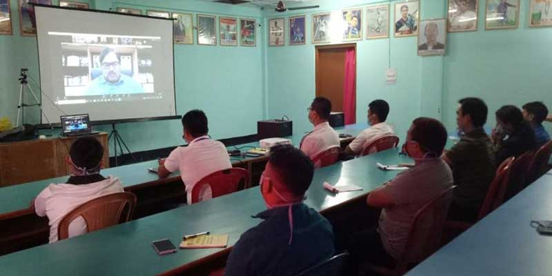 Arunachal: 6 days refresher Course for the Coaches & Instructors held